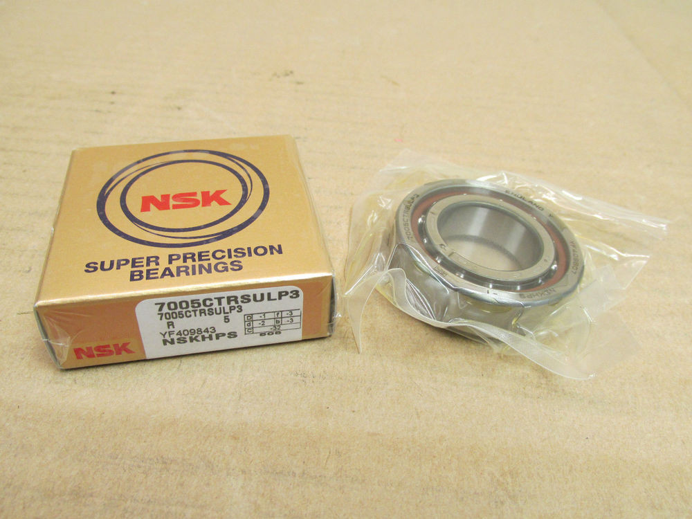 NSK high speed precision bearing installation attention reference