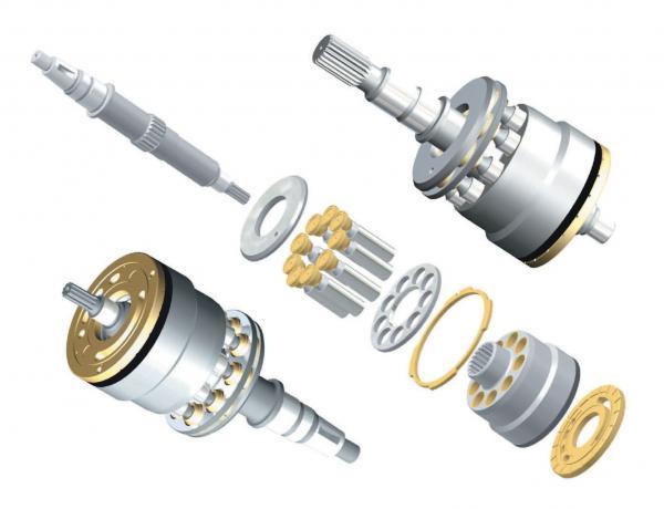 Genuine PC300-3 water pump 6151-61-1121,S6D125 engine water pump