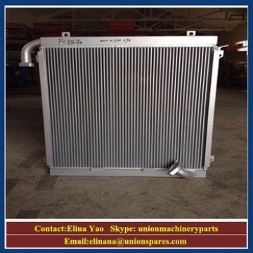 Customs hatachi excavator oil coolers aluminium,hyundai /Kobelco/Daewoo/volvo/sumitomo/kato/komats