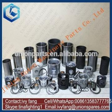 4HK1 Engine Cylinder Liner Kit Piston Piston Ring for Hitachi Excavator ZAX240-3 ZX240-3
